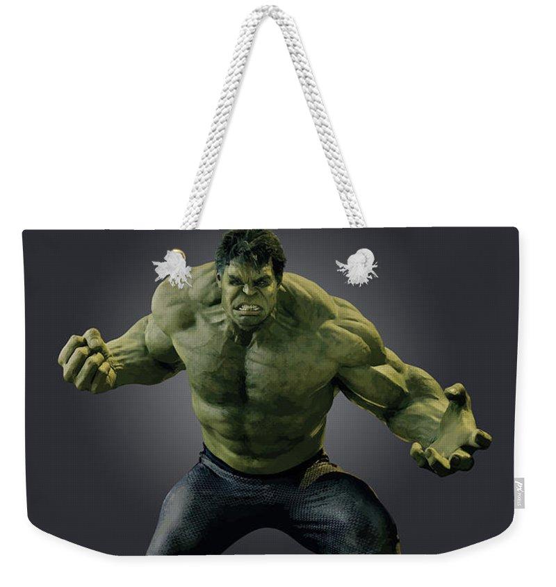Radiation Weekender Tote Bags