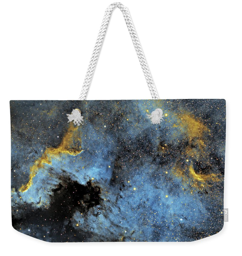Nebula Weekender Tote Bag featuring the photograph The North America Nebula by Prabhu Astrophotography