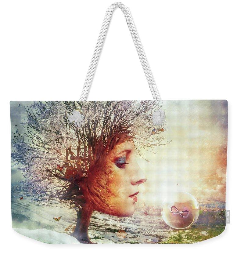 Mythology Weekender Tote Bags