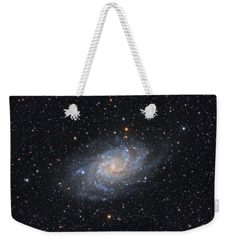 Galaxy Weekender Tote Bag featuring the photograph Triangulum Galaxy by Prabhu Astrophotography