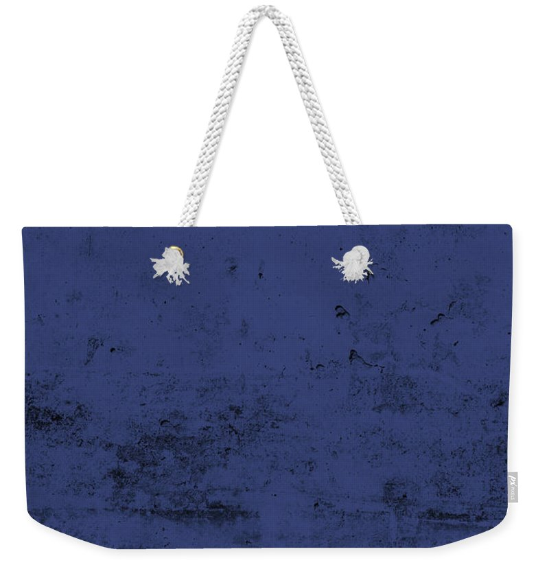 Unc Asheville Weekender Tote Bag featuring the mixed media Unc Asheville Team Colors College University Distressed Series by Design Turnpike