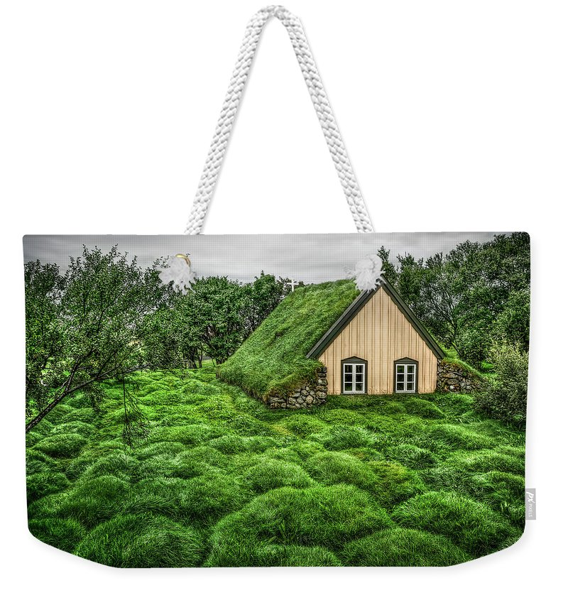 Hof Weekender Tote Bag featuring the photograph When Heaven Calls Your Name by Evelina Kremsdorf