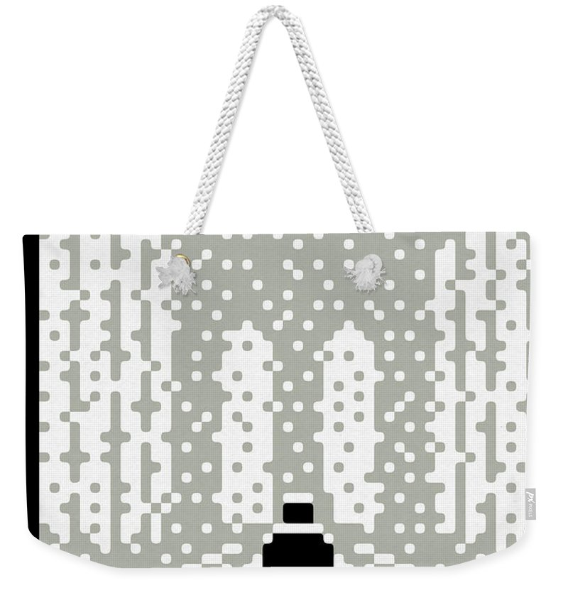 147199 Weekender Tote Bag featuring the painting Whiteout by Christoph Niemann