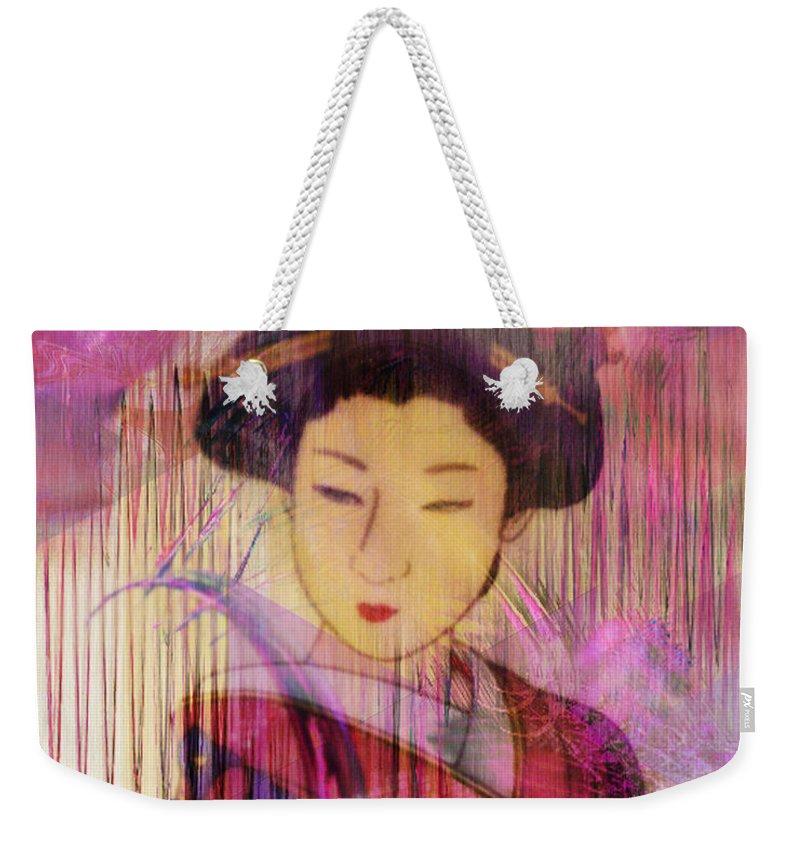 Willow World Weekender Tote Bag featuring the digital art Willow World by John Robert Beck