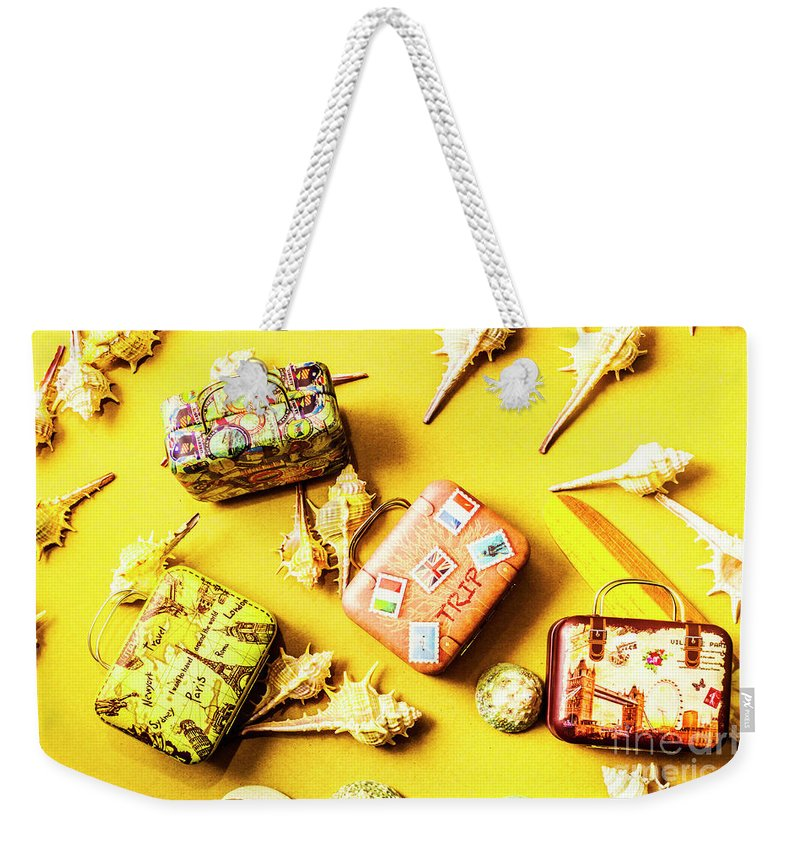 Voyage Weekender Tote Bag featuring the photograph Yellow Voyage by Jorgo Photography - Wall Art Gallery