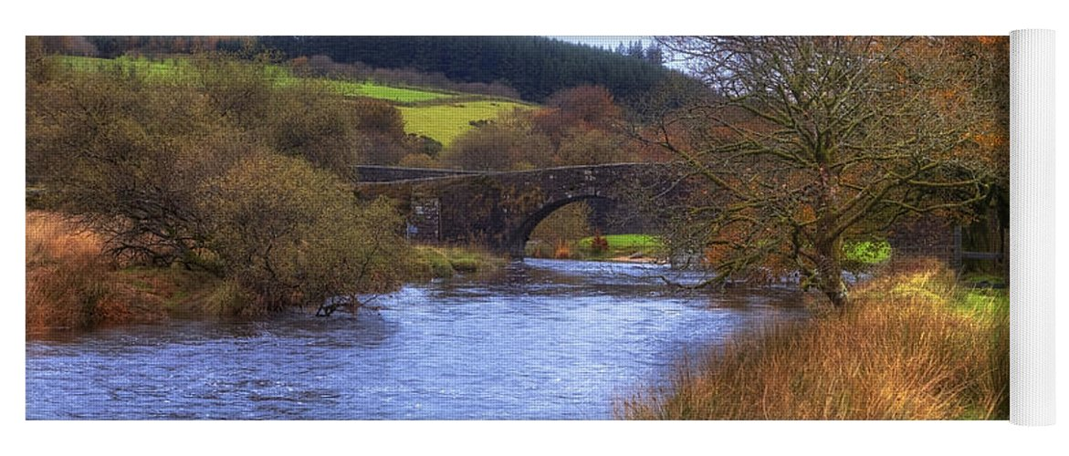 Two Bridges Yoga Mat featuring the photograph Dartmoor - Two Bridges by Joana Kruse