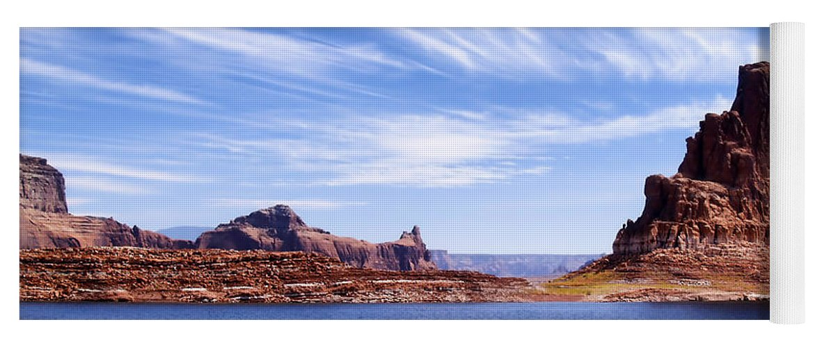 Lake Powell Yoga Mat featuring the photograph Lake Powell by Mountain Dreams