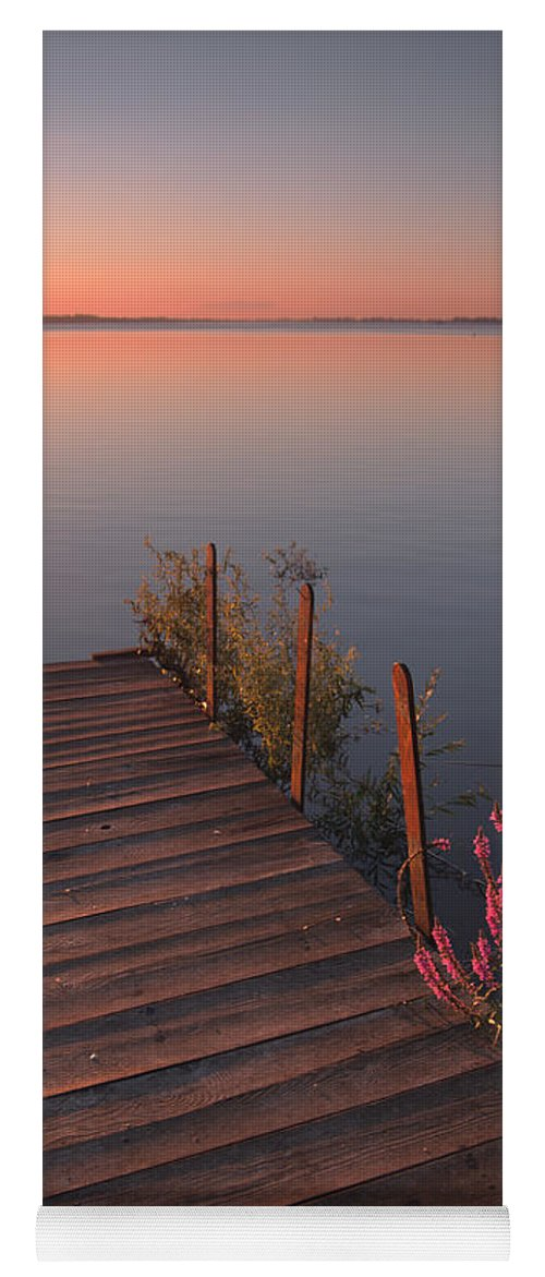 Landscape Yoga Mat featuring the photograph Summer Morning by Davorin Mance