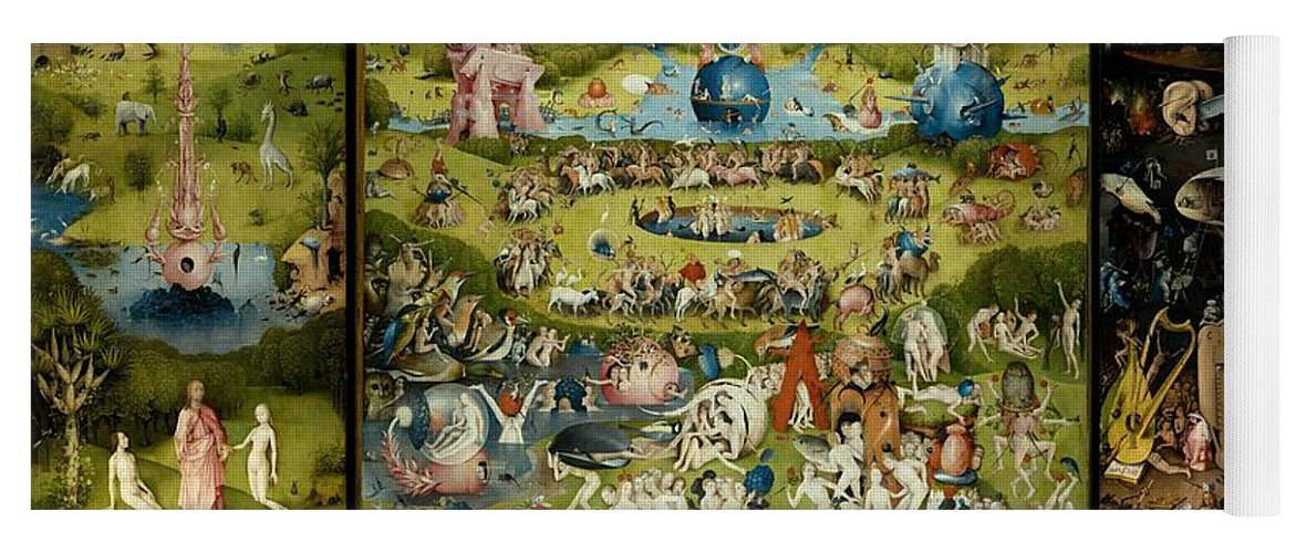 The Garden Of Earthly Delights Yoga Mat