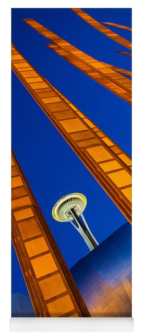 Seattle Yoga Mat featuring the photograph Reach For The Sky 4 by Inge Johnsson
