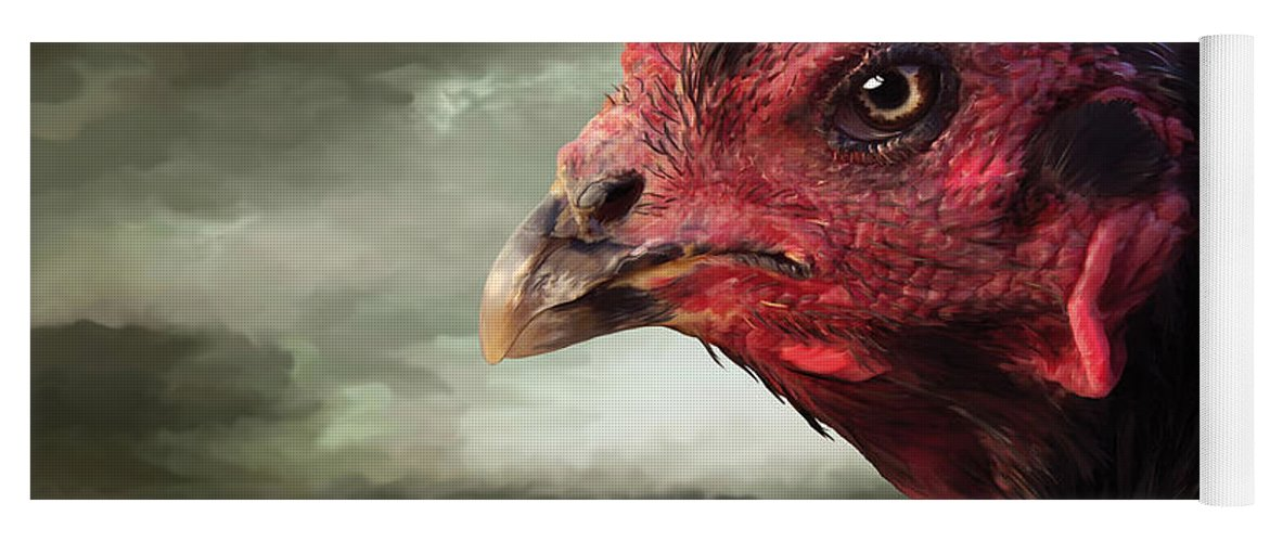 22  Game Hen Yoga Mat