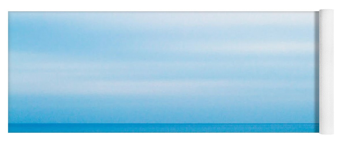 Background Yoga Mat featuring the photograph Blue Mediterranean by Stelios Kleanthous
