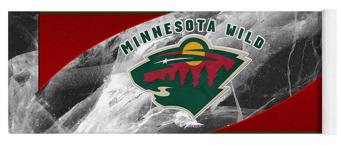Wild Yoga Mat featuring the photograph Minnesota Wild by Joe Hamilton