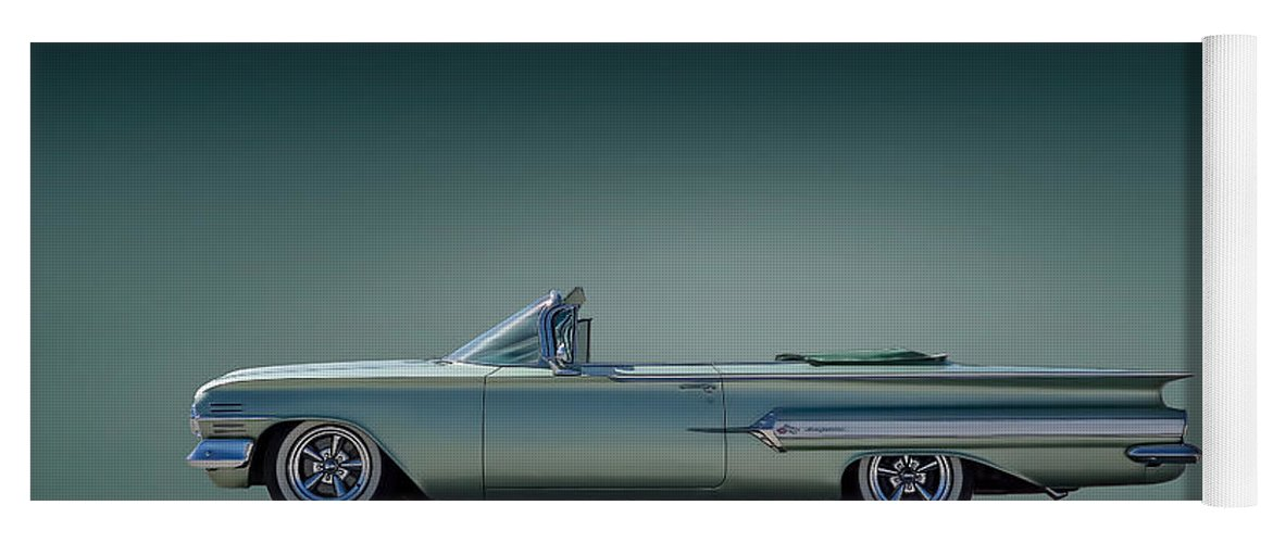 60 Impala Convertible Yoga Mat For Sale By Douglas Pittman