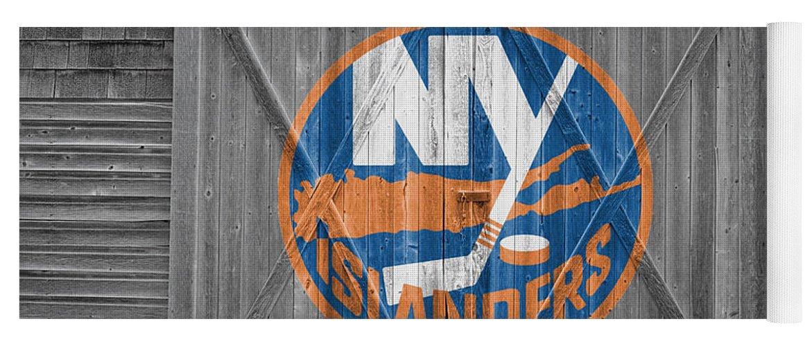 Islanders Yoga Mat featuring the photograph New York Islanders by Joe Hamilton