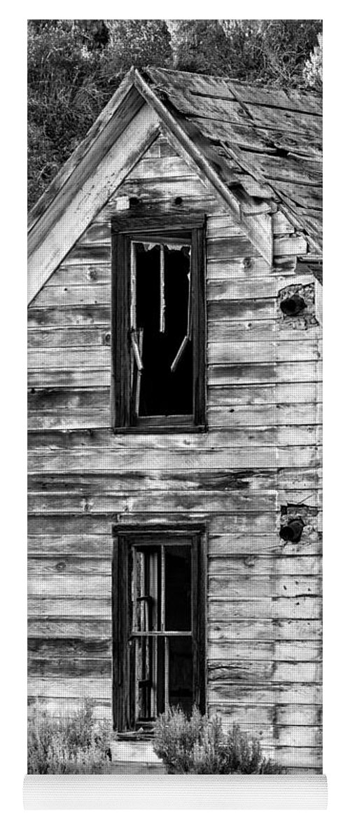 2013 Yoga Mat featuring the photograph Abandoned Farmhouse - Alstown - Washington - May 2013 by Steve G Bisig