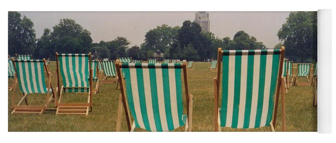 Hyde Park Yoga Mat featuring the photograph Assemblage by Christine Jepsen