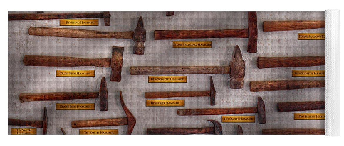 Blacksmith - Tools - Pounding Headache Yoga Mat