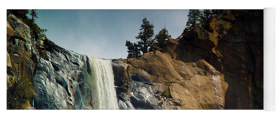 Yosemite Yoga Mat featuring the photograph Bridalveil IIi by Bill Gallagher