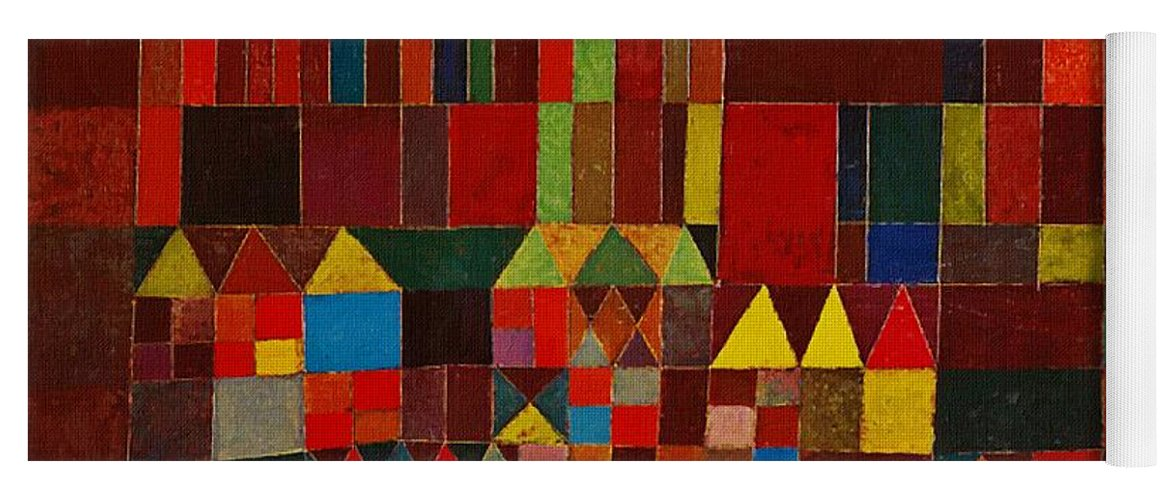 Castle And Sun Yoga Mat For Sale By Paul Klee
