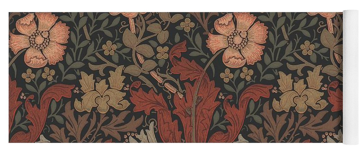 William Yoga Mat featuring the tapestry - textile Compton Design by Philip Ralley