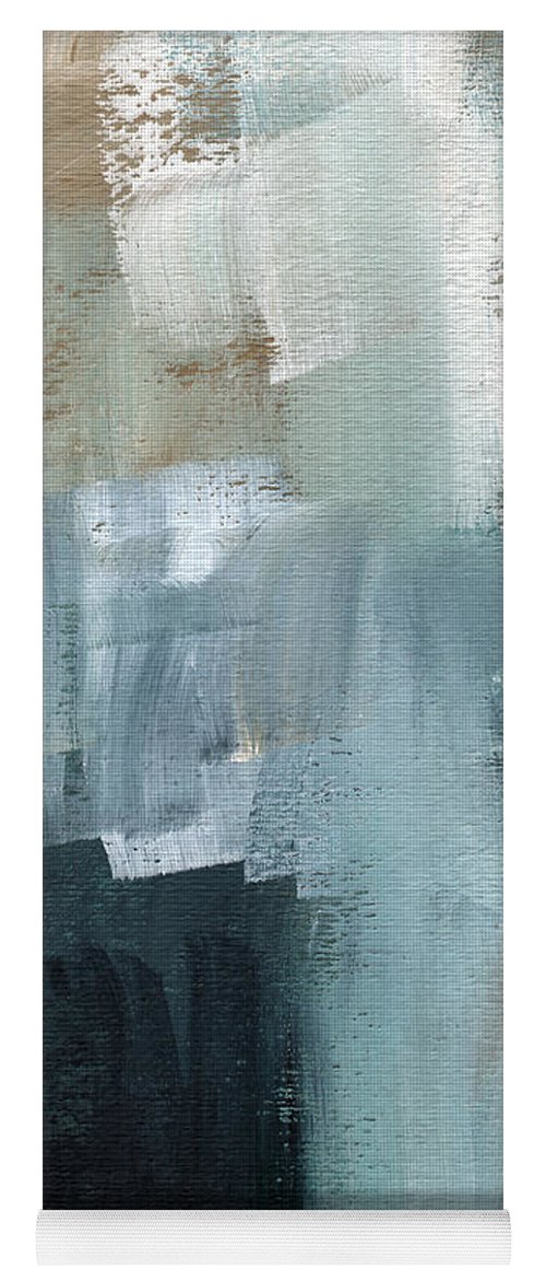 Abstract Art Yoga Mat featuring the painting Days Like This - Abstract Painting by Linda Woods