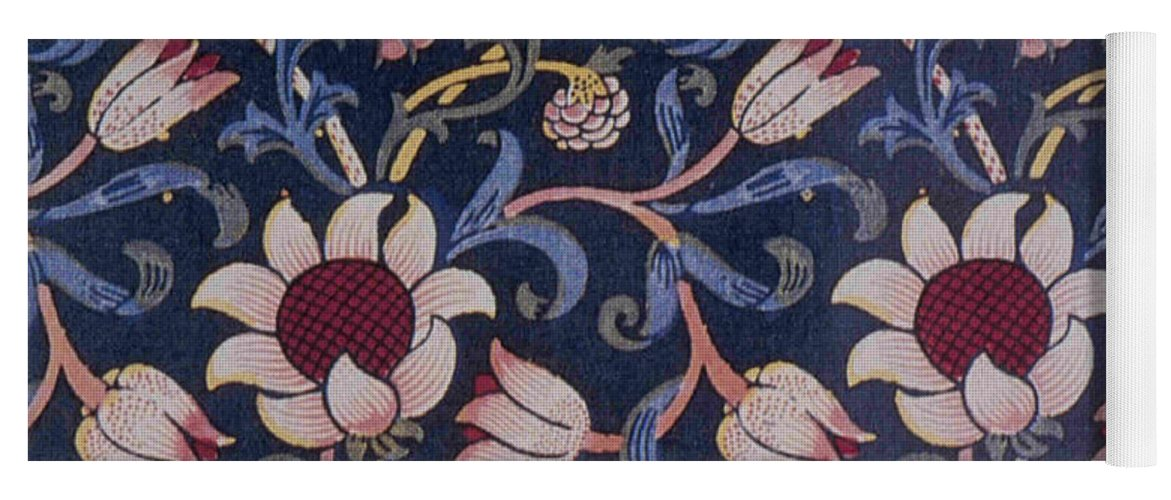 William Yoga Mat featuring the tapestry - textile Evenlode Design by Philip Ralley