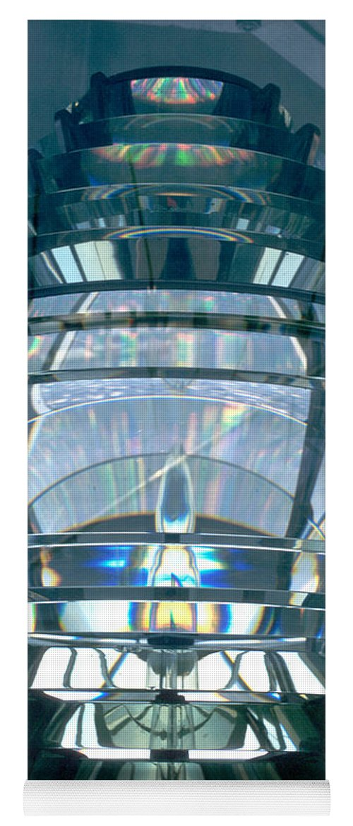 Fresnel Lens Yoga Mat featuring the photograph Fresnel Lens by Jerry McElroy