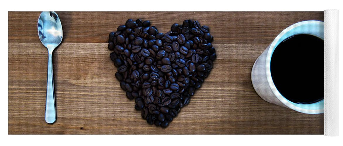 Coffee Yoga Mat featuring the photograph I Love Coffee by Nicklas Gustafsson