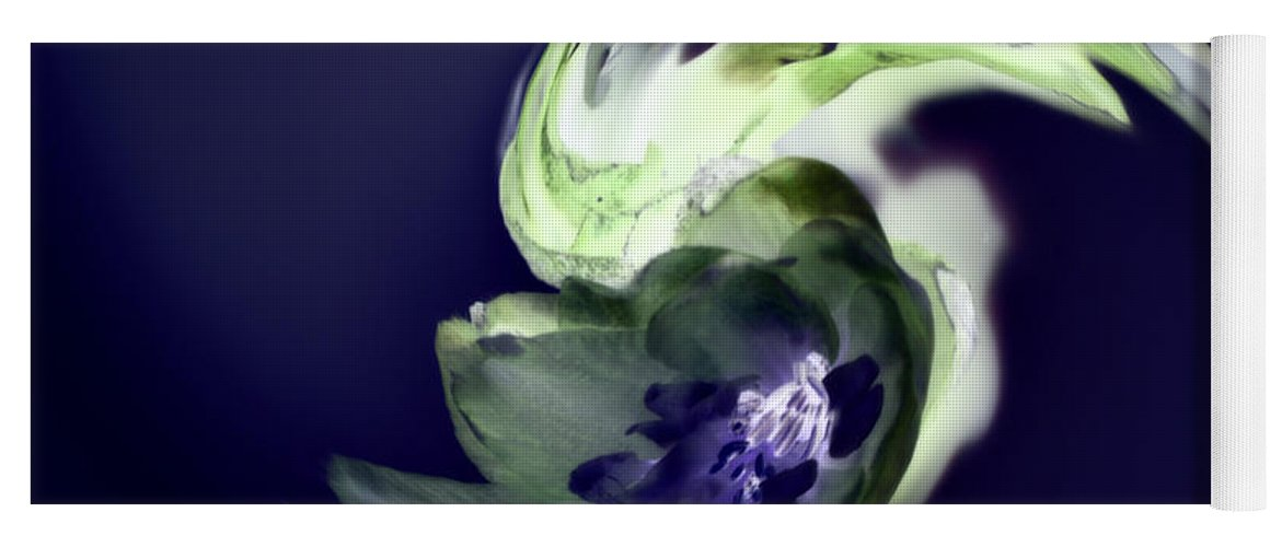 Abstract Phototgraphy Yoga Mat featuring the photograph Incana abstract 1 by Paulina Roybal