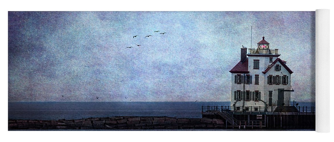 Into The Night Yoga Mat featuring the photograph Into The Night by Dale Kincaid