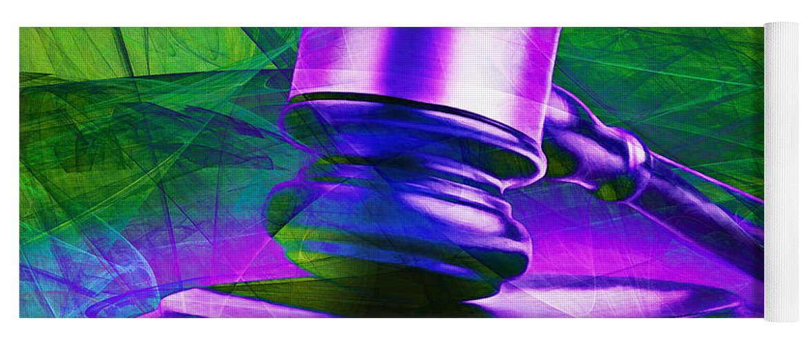 Gavel Yoga Mat featuring the photograph Judges Gavel 20150225m130 V2 Square by Wingsdomain Art and Photography