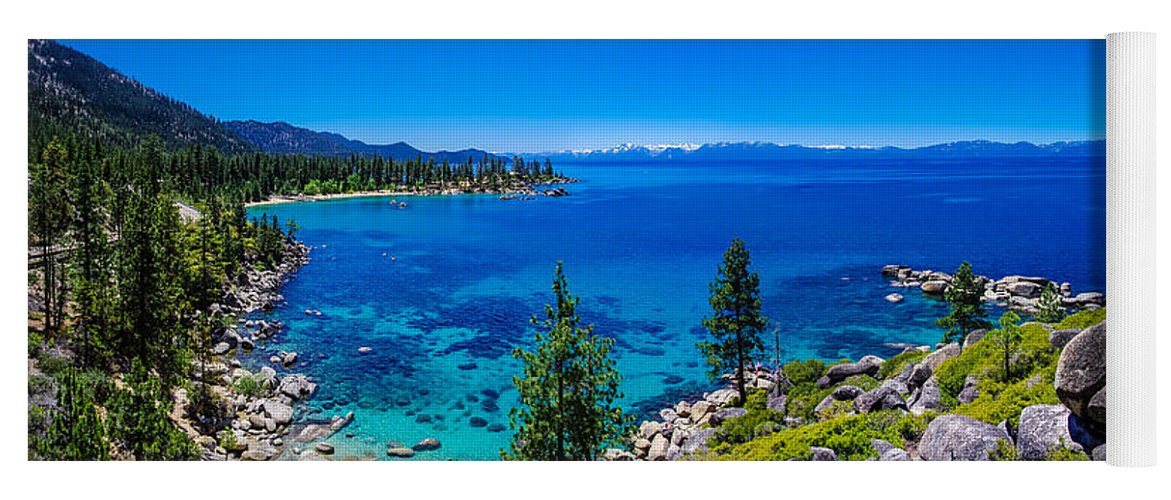 America Yoga Mat featuring the photograph Lake Tahoe Summerscape by Scott McGuire