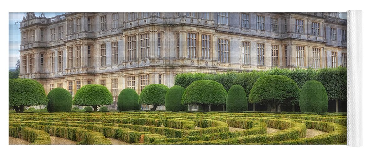 Longleat House Yoga Mat featuring the photograph Longleat House - Wiltshire by Joana Kruse