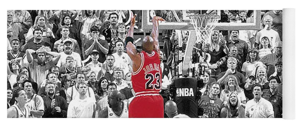 dd54007fec02ff Michael Jordan Buzzer Beater Yoga Mat for Sale by Brian Reaves