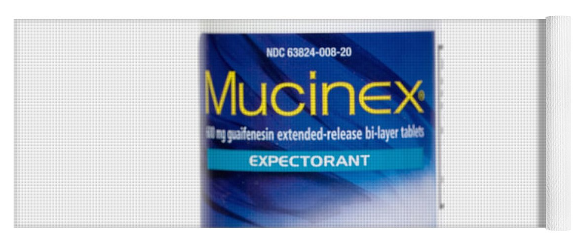 Mucinex Bottle And Pill Yoga Mat For Sale By Science Stock Photography