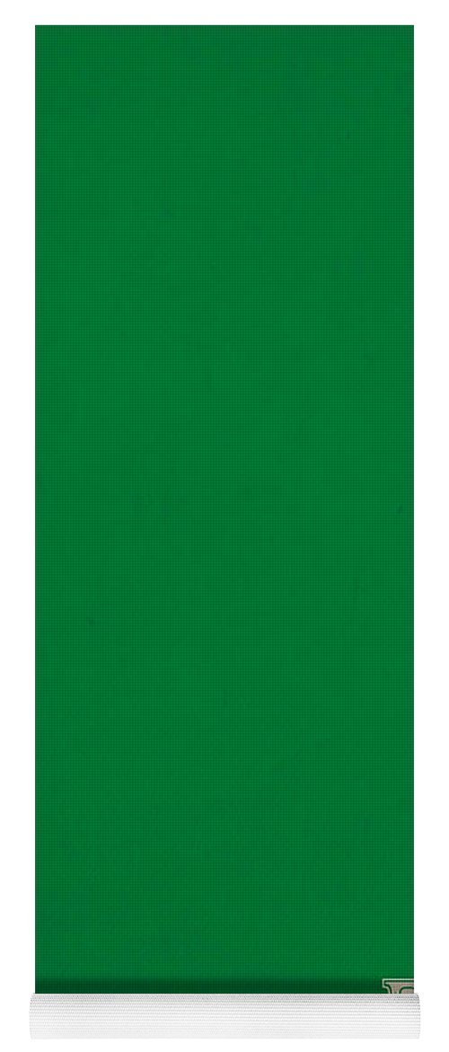 pantone 348 forest green color on worn canvas yoga mat for sale by