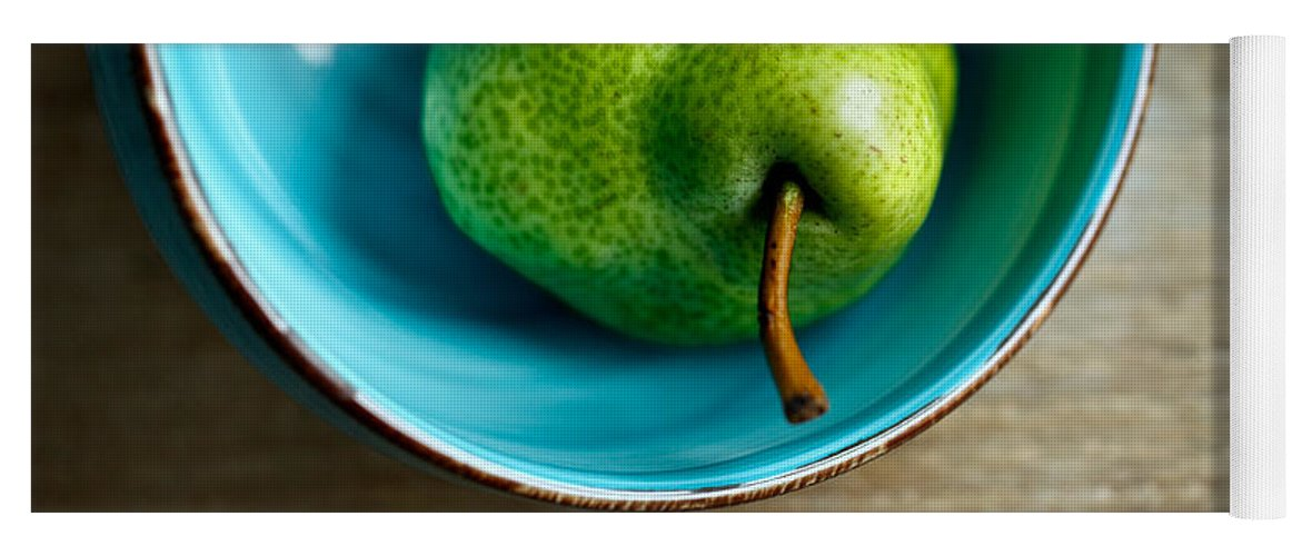Pear Yoga Mat featuring the photograph Pears by Nailia Schwarz