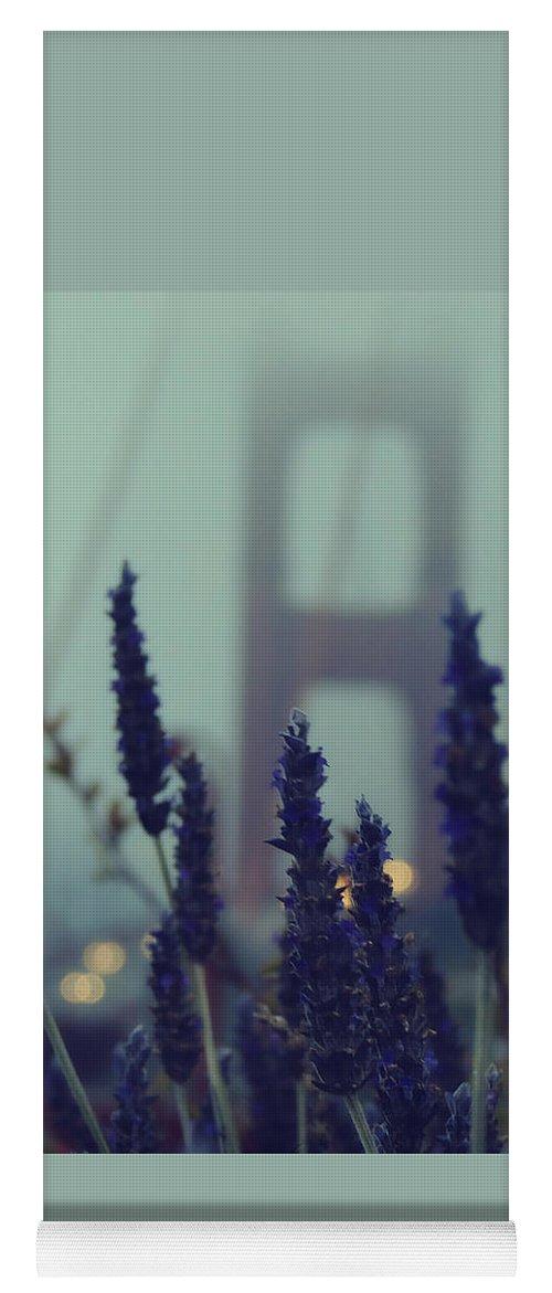 San Francisco Yoga Mat featuring the photograph Purple Haze Daze by Jennifer Ramirez
