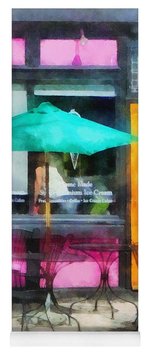 Ice Cream Yoga Mat featuring the photograph Rhode Island - Homemade Ice Cream Bristol Ri by Susan Savad