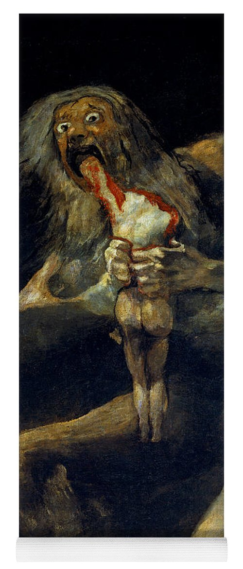 Saturn Devouring His Son Yoga Mat For Sale By Francisco Goya