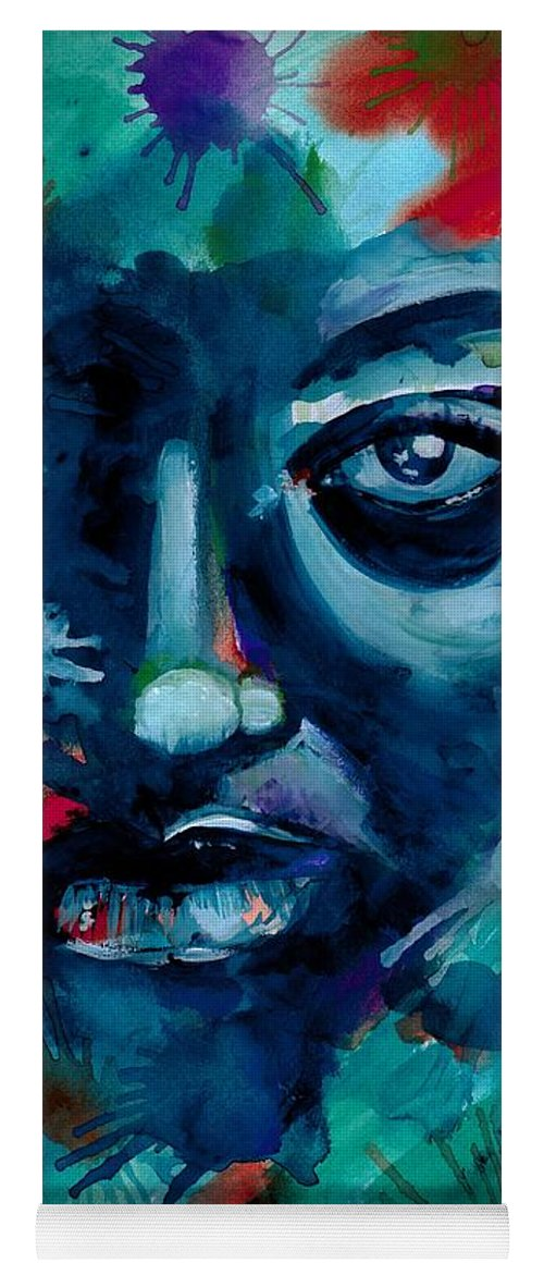 Painting Yoga Mat featuring the photograph Show me your true colors by Artist RiA
