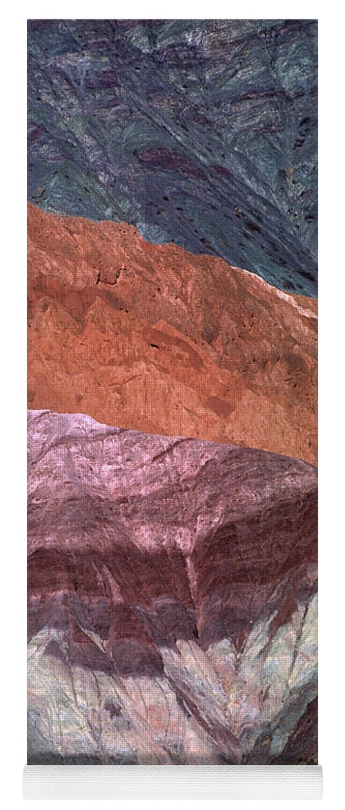 Argentina Yoga Mat featuring the photograph The Hill Of Seven Colors Argentina by James Brunker