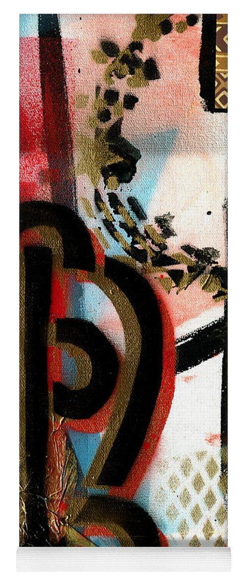 Everett Spruill Yoga Mat featuring the painting The Power of Love by Everett Spruill