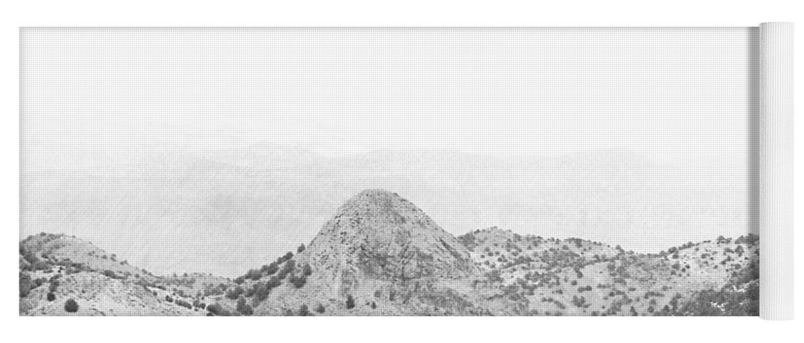 View From Virginia City Nevada Yoga Mat featuring the photograph View From Virginia City Nevada by Frank Wilson