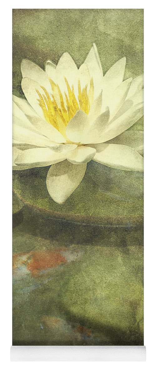 Water Lily Yoga Mat featuring the photograph Water Lily by Scott Norris