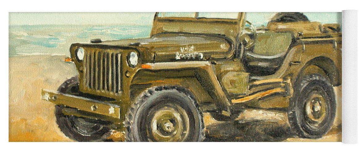 Willys Jeep For Sale >> Willys Jeep Yoga Mat