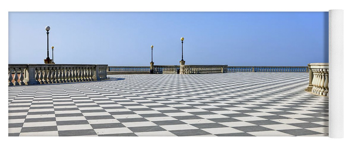 Livorno - Terrazza Mascagni Yoga Mat for Sale by Joana Kruse
