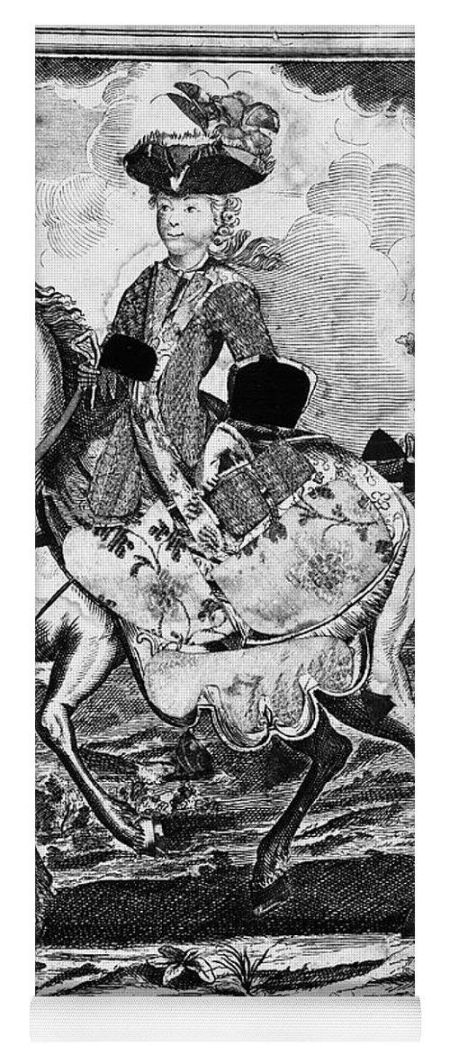18th Century Yoga Mat featuring the photograph Marquise De Pompadour by Granger