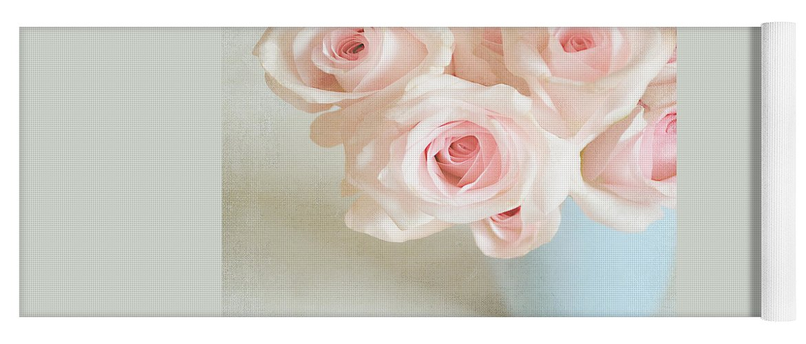 Roses Yoga Mat featuring the photograph Baby Pink Roses by Lyn Randle